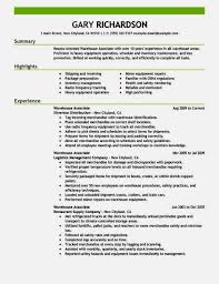 warehouse worker resume sample   job resume    sample resume objective warehouse worker