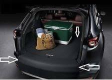 Коврик багажника с защитой бампера (тканевый) 00008KN09 ...