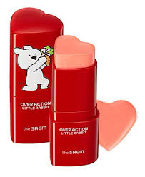 Купить The Saem <b>Румяна</b>-<b>стик Over Action Little</b> Rabbit Love Me ...