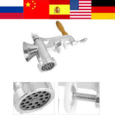 Multifunctional meat grinder <b>Sausage</b> maker Aluminum alloy ...