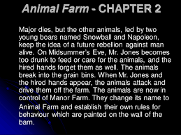 animal farm by george orwell by catmbeer   teaching resources   tesanimal farm   chapter   ppt