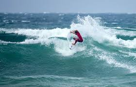 just in what happened to surfing s great rebel tour beach grit jeremy flores not wins at the rip curl pro bells beach the madagascan lion tries hard but conditions too difficult photo wsl