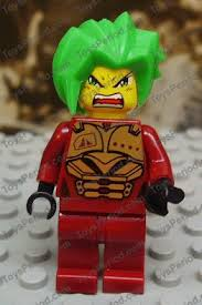 Lego Exo Force Takeshi <b>Dark Red Camouflage</b> minifigure new ...