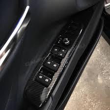 <b>Накладки</b> на блок кнопок <b>стеклоподъёмников</b> Camry V70 (карбон)