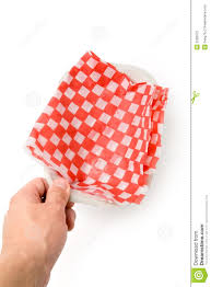 fast food paper tray stock photography image  fast food paper tray