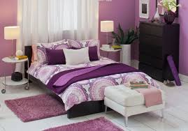 bedroom decorating ideas with ikea bed sheet beautiful bedroom design for girls using cozy purple beautiful ikea girls bedroom