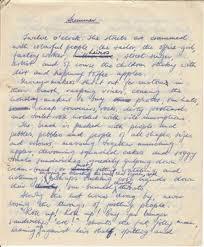 handwriting essayhandwriting essay essay on summer schoolgirl essays by beryl payne    writing in the