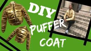 How to make a DIY <b>Puffer Jacket 2018</b> - YouTube