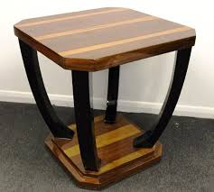antique art deco style occasional coffee table overall good condition some light marks and scratches as you can see from pictures will suit any home art deco style furniture occasional coffee