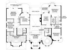 Small Picture House Plans With Two Master Suites Two Master Bedroom House Plan
