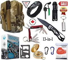SIGMA <b>GEAR</b> - <b>Emergency Survival Kit</b> & Survival <b>Gear</b> With Tactical ...