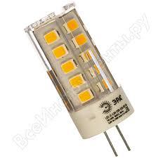 Светодиодная <b>лампа ЭРА LED</b> smd <b>JC</b>-<b>3</b>,<b>5w</b>-<b>220V</b>-corn, ceramics ...