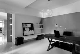 black home office furniture cool ideas architecture fair interior charming modern scheme heavenly contemporary with chandelier black and white office furniture