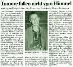 """Zeitungsartikel in der """"Griesheimer Woche"""" anlässliche des Eröffnungsvortrags von Jörg Rinne. rinne_artikel-griesheimer-ges-messe2009 - rinne_artikel-griesheimer-ges-messe2009"""