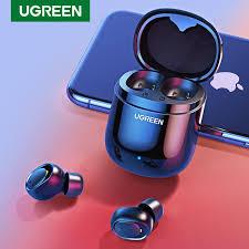 <b>Ugreen Bluetooth Earphone</b> 5.0 <b>TWS</b> True Wireless Earbuds Stereo ...