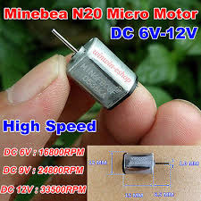 Micro NMB N20 Motor <b>DC</b> 5V-<b>12V</b> 33500RPM High Speed Mini ...