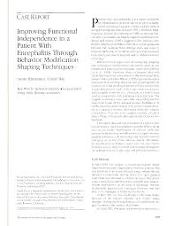 improving functional independence in a patient encephalitis first page pdf preview