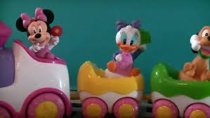<b>Disney Baby Minnie</b> Musical Train TOY REVIEW Minnie Mouse ...