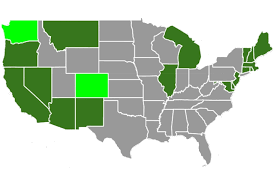 State Marijuana Laws in 2019 Map