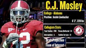 nfl draft profile c j mosley strengths and weaknesses 2014 nfl draft profile c j mosley strengths and weaknesses projection