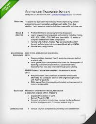 engineering cover letter templates   resume geniussoftware engineer intern resume sample
