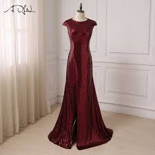 <b>Robe de Soiree Longue</b> Sexy Backless Red Mermaid Lace Evening ...