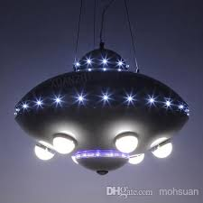 ufo aircraft chandelier boy child childrens room lamps bedroom lamps creative cartoon kids room lighting boys bedroom lighting