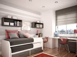loft with wooden bed amazing space saving bedroom ideas furniture