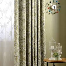 factory direct new european american country style printing blackout curtain fabric living room window luxury fashion american country style font