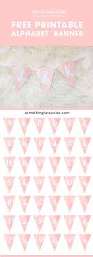 best ideas about printable banner printable adorable printable watercolor alphabet banner you can make it say anything you want