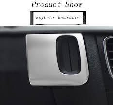 <b>Car styling keyhole</b> decorative frame covers trim key stickers strip for ...
