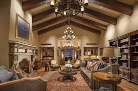fascinating craftsman living room chairs furniture: luxury craftsman living room with elegant furniture and large vaulted beams