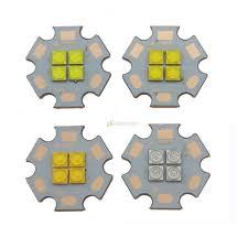 <b>2pcs</b> Cree XTE XT-E 4 Chips <b>18W</b> LED Emitter Bulb Cool <b>White</b> ...