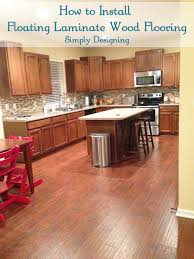Laminate For Kitchen Floors How To Install Floating Wood Laminate Flooring Part 1 The