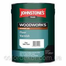 <b>Лак</b> для <b>паркета Johnstones</b> Floor Varnish Gloss (глянцевый) 5 л ...