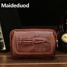 <b>Maideduod</b> Genuine Leather Waist Packs Fanny Pack Belt Bag ...