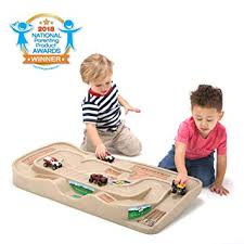 Simplay3 Carry and Go Durable Track Table for Toy <b>Cars</b>, <b>Trucks</b>