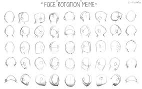 Face Rotation Meme by Vixenkiba on DeviantArt via Relatably.com
