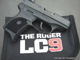 Image result for ruger LC9S light compact pistol
