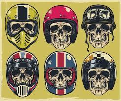 <b>Skeleton Riding</b> A <b>Motorbike</b> in 2020 | Helmet drawing, <b>Skull</b>, How to ...