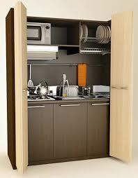 functional mini kitchens small space kitchen unit: mobilspazio contract monobloc mini kitchen folding doorsjpg