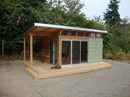 modern shed pre fab shed kit 12 x 16 coastal backyard office pod cuts