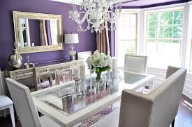 hollywood regency residence contemporary dining room idea in raleigh with purple walls and dark hardwood floors room decoration accessoriesglamorous bedroom interior design ideas