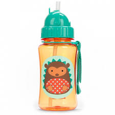 <b>Поильник Skip-Hop Zoo</b> Straw Bottle 350 мл - Акушерство.Ru