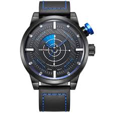 <b>weide</b> wh5201-3c <b>fashion men</b> quartz watch leather strap <b>sport</b> ...