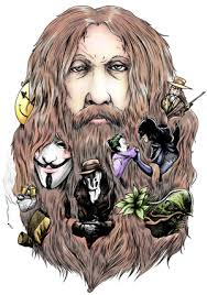 Alan Moore - Illustration by Thomas Goodwin. Back in the eighties you were the first British writer to work on major comic book titles in the USA. - alanmoore350