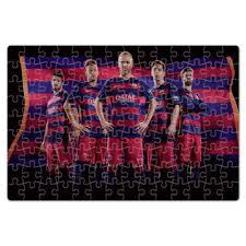 Пазл магнитный 18 x 27 (126 элементов) FC Barcelona #1150367 ...