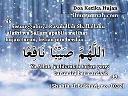 Image result for doa ketika hujan