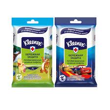 <b>Влажные салфетки</b> Kleenex Бережная Защита