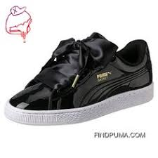 Puma Black Basket Heart <b>Explosive Women's</b> Sneakers | Just ...